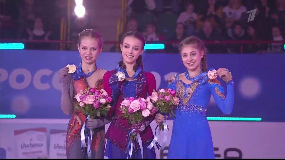 ロシア選手権女子がまさかジュニア独占になるとは、、、! 代表選考凄く難しいなw