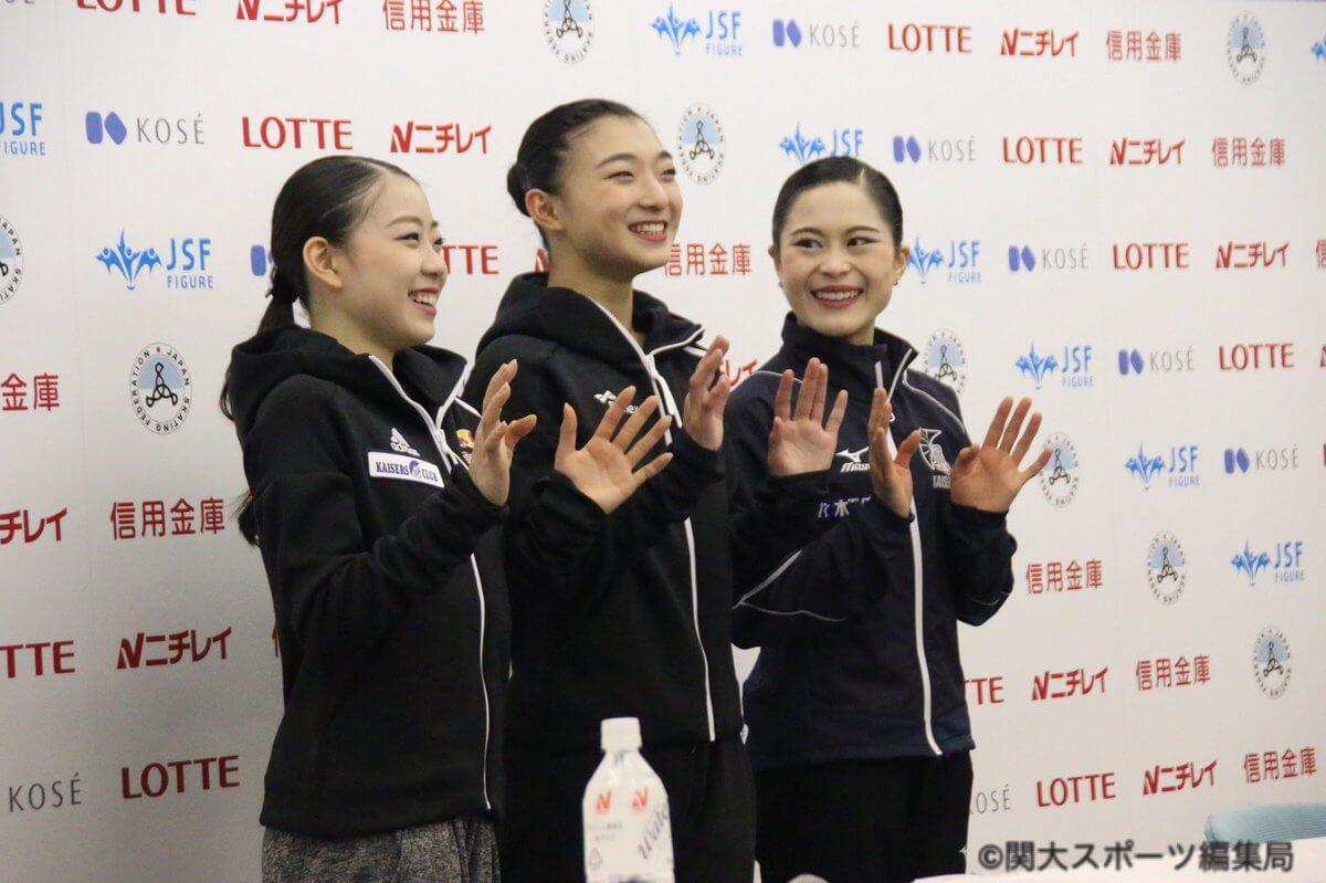 全日本フィギュアスケート選手権 女子最終結果まとめ!