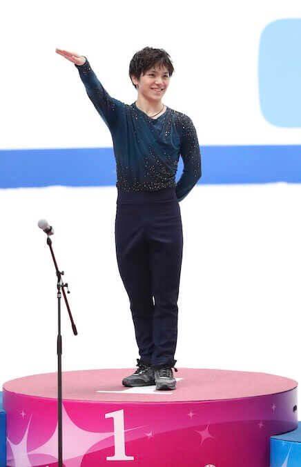 宇野昌磨はエキシビション出演見合わせを発表。右足首怪我の治療で。