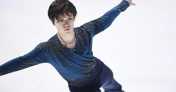 宇野昌磨「6分間練習の時に先生に『ごめんなさい』と言って4回転フリップに切り替えてガツンといきました。」