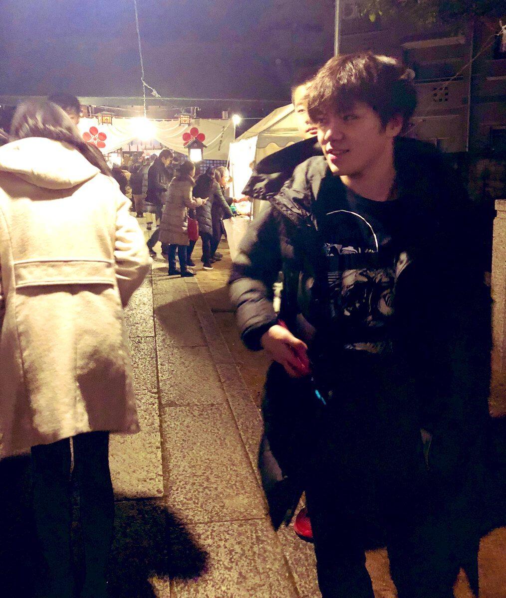 宇野樹が宇野昌磨との初詣の写真をツイート!