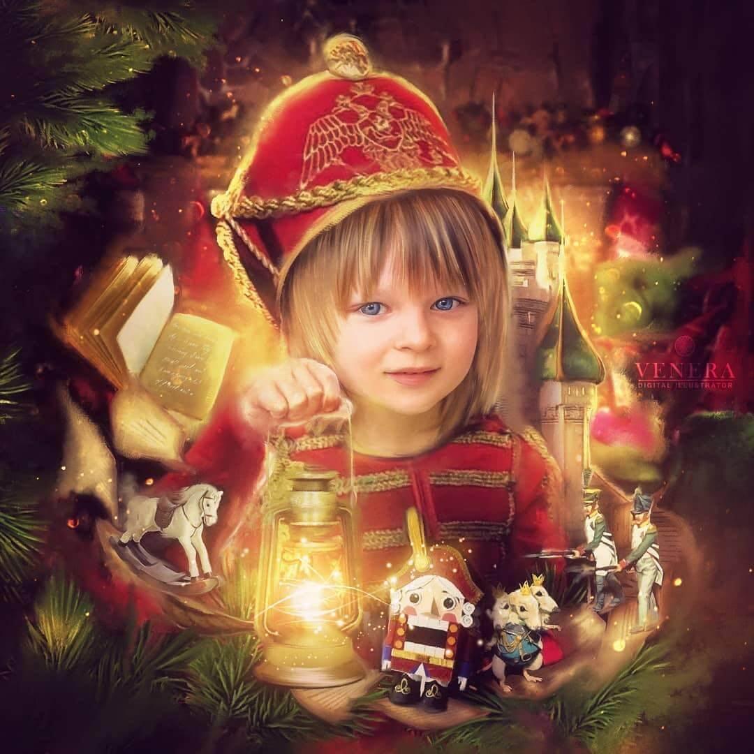サーシャ君が6歳の誕生日をロシア名物
