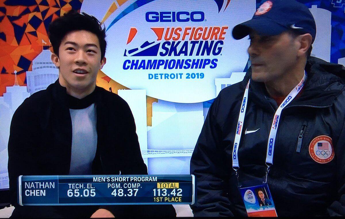 全米選手権 男子SP結果まとめ!ネイサン・チェンがノーミス演技で首位スタート!