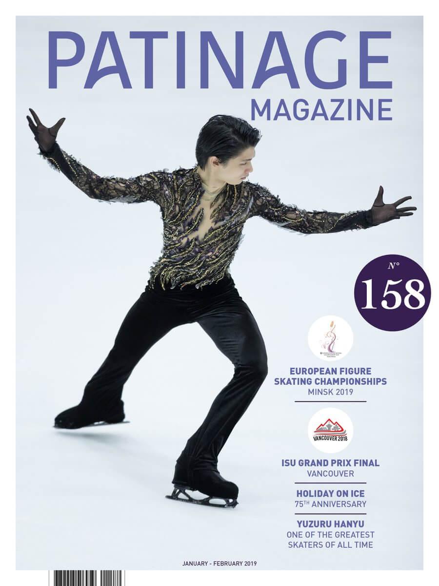 フランス雑誌のPATINAGEの羽生結弦がかっこ良すぎると話題に!