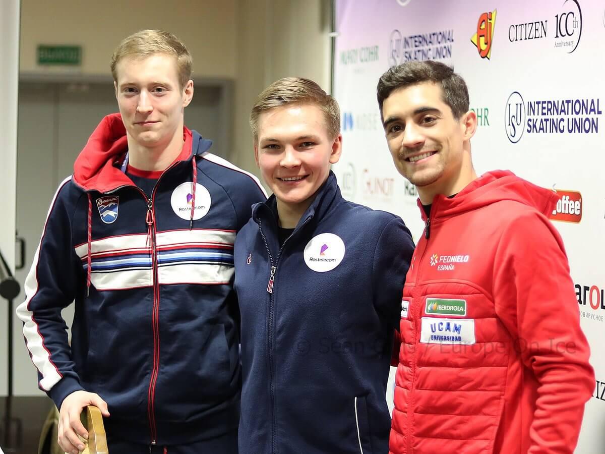 欧州選手権 男子SP結果まとめ!ミハイル・コリヤダがSP100点越えで首位発進!