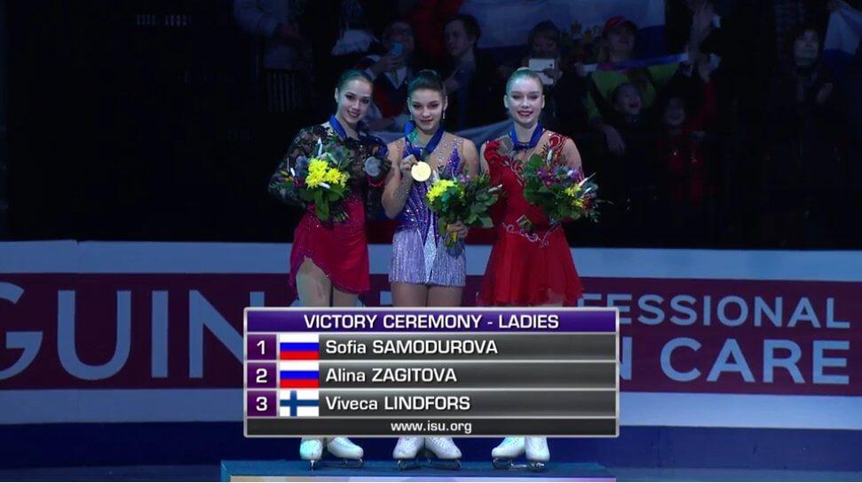 欧州選手権 女子最終結果まとめ!サモドゥロワが逆転V!