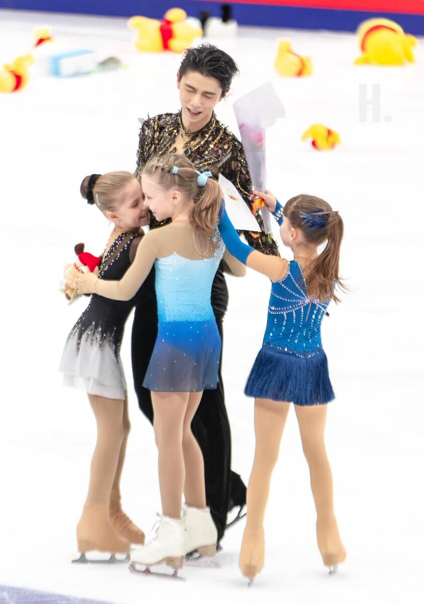 羽生結弦とロシア少女の「優しくて可愛くて美しい世界」
