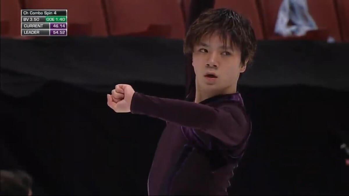 四大陸選手権 SP演技後の宇野昌磨のコメント!「練習してこなかったので悔しいという権利はない。」