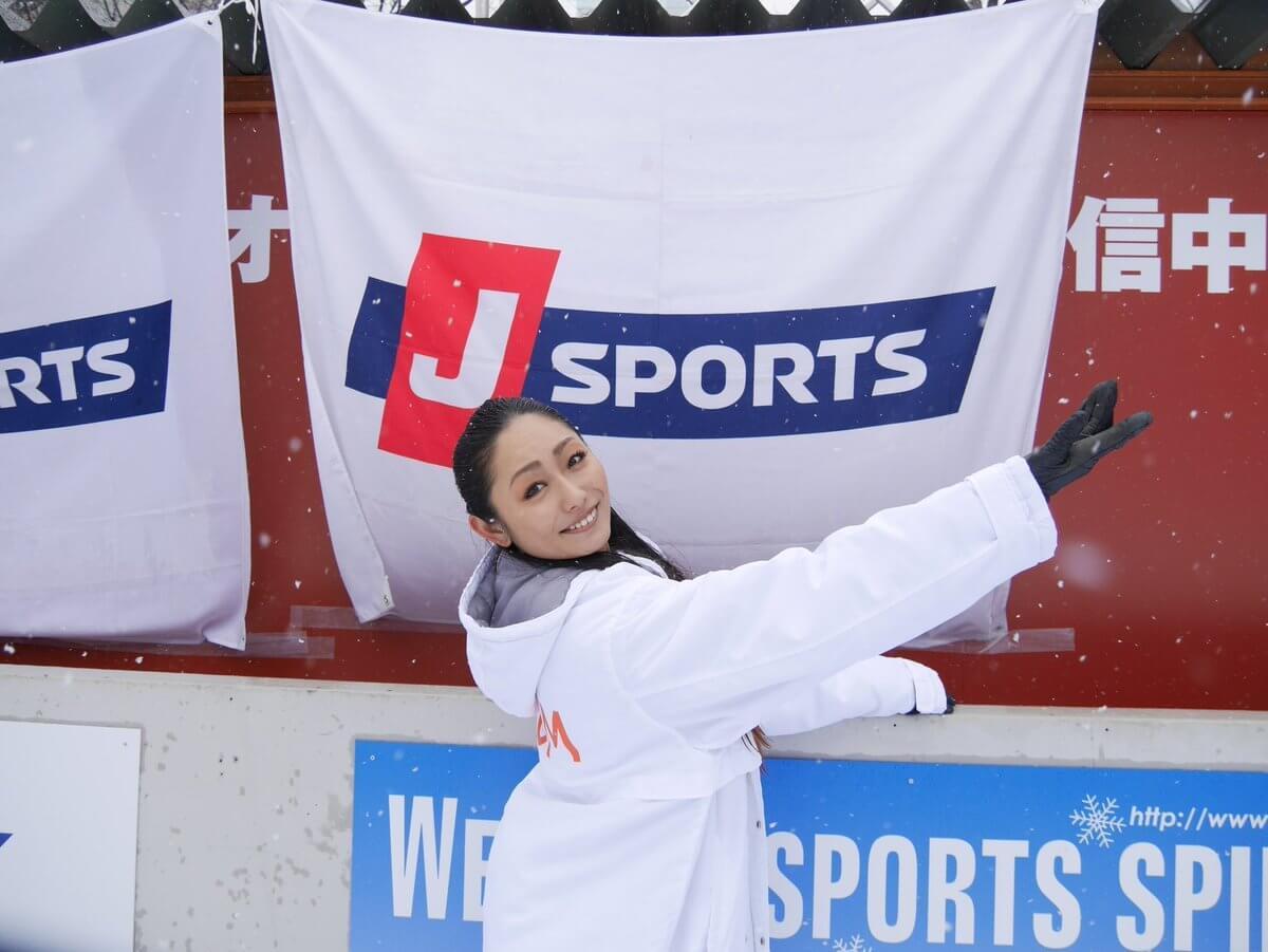 さっぽろ雪まつりで安藤美姫が演技を披露!スケート教室も開催!