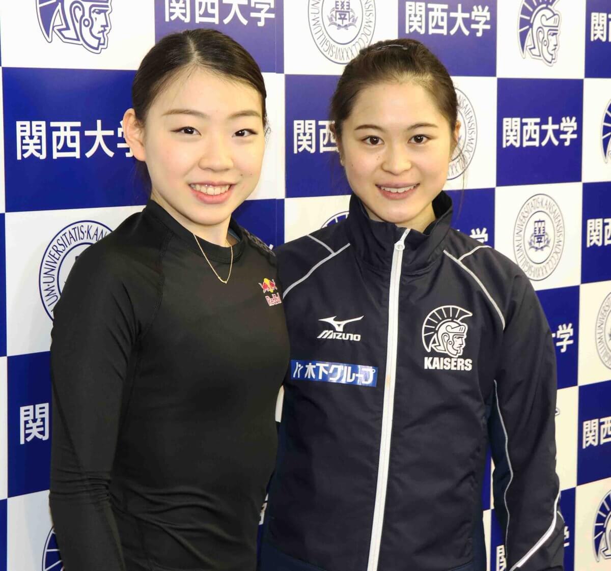紀平梨花と宮原知子が世界選手権に向けて練習を公開!