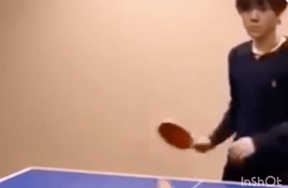 宇野昌磨が卓球をしている動画が!練習のレベルが高いwww