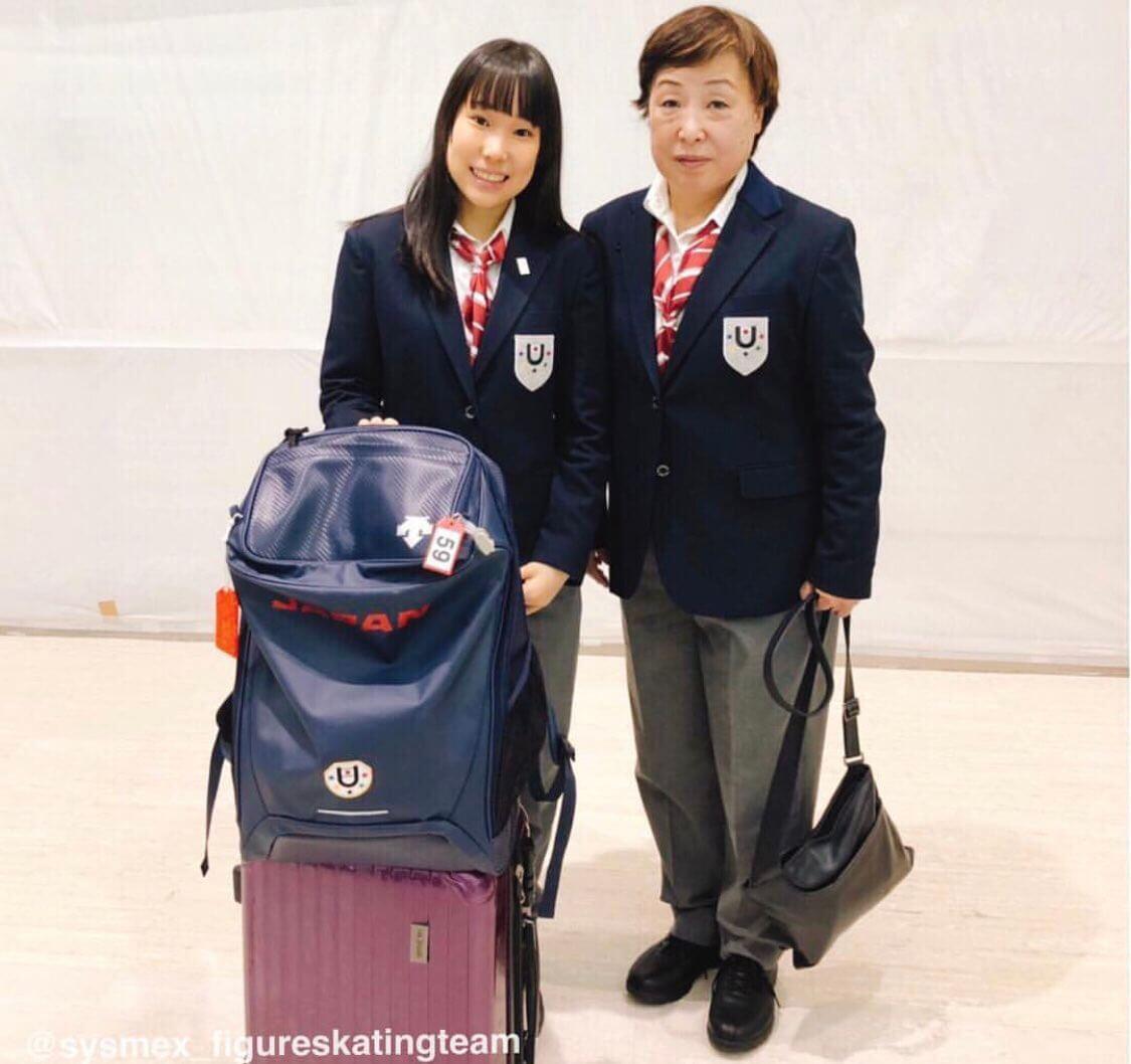 三原舞依がユニバーシアード大会に向けて日本を出発!インスタにはメッセージが!