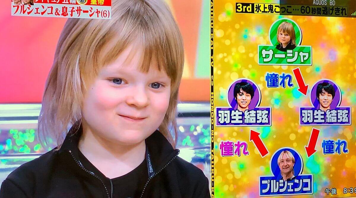 【映像有】炎の体育会tvにプルシェンコ親子が出演!本田姉妹と対決!!