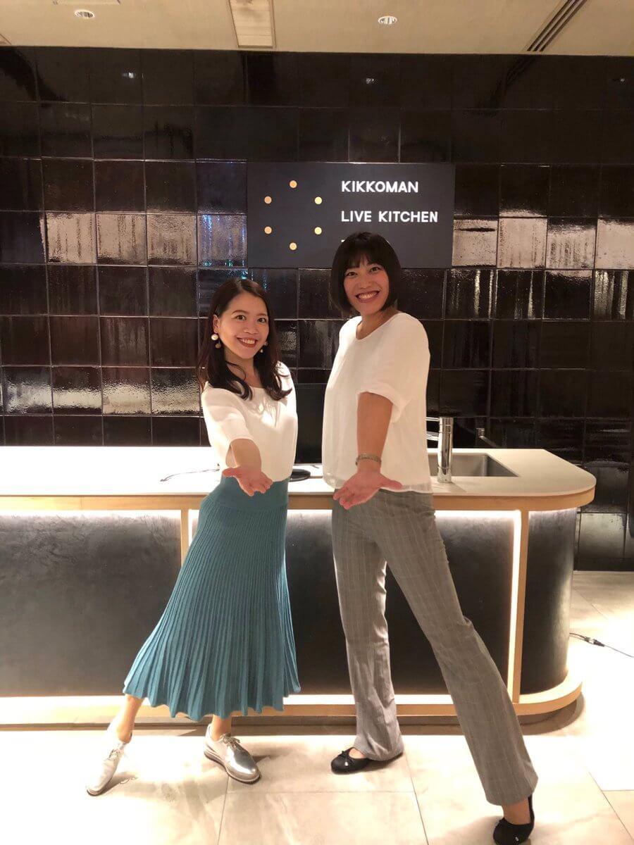 鈴木明子がキッコーマンライブキッチン東京にて、「フィギュアスケートと食」をテーマにトークショーを開催!