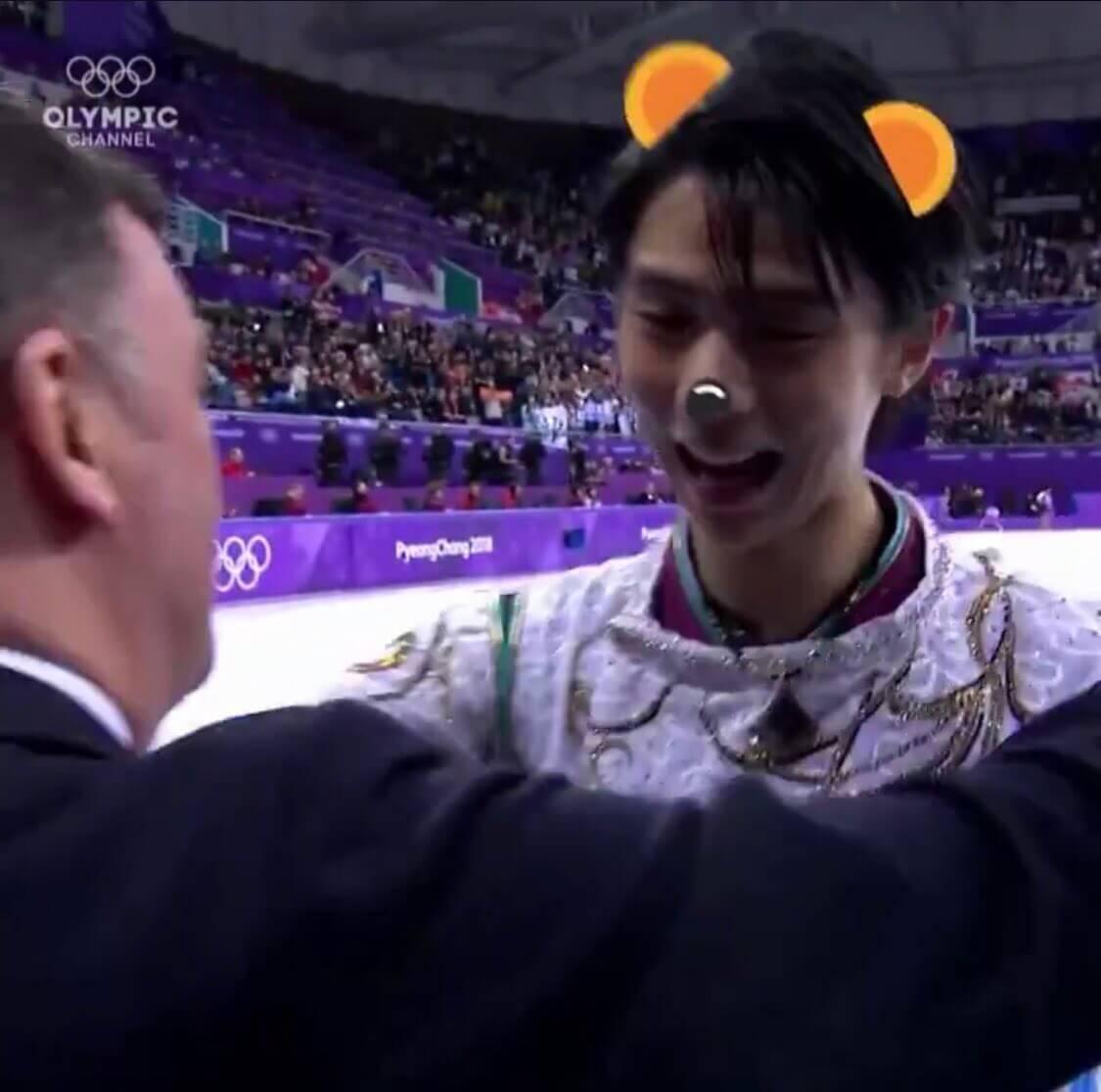 オリンピックチャンネル恒例の一言シリーズ、今回はオーサーの教え子達!