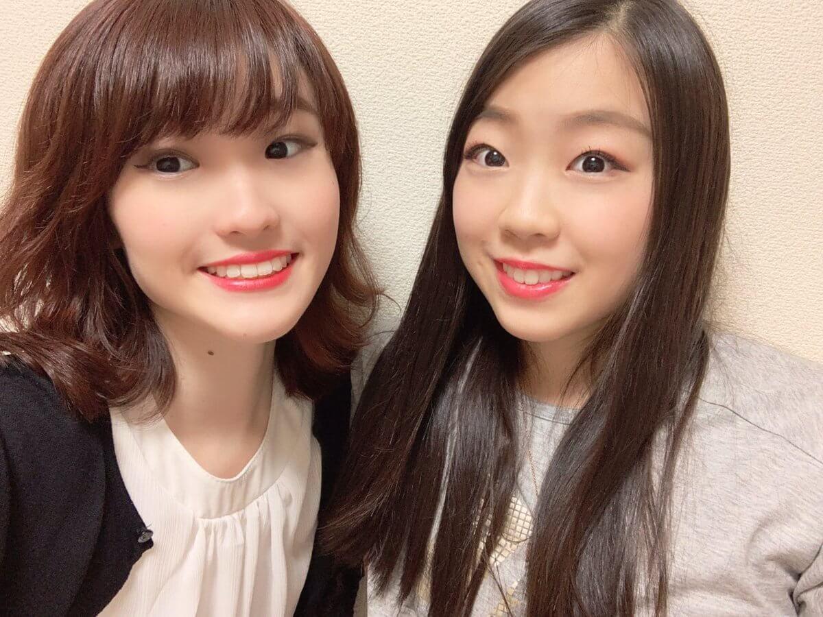 紀平梨花の姉が久しぶりの姉妹2ショットを投稿!1ヶ月半ぶりの再会!