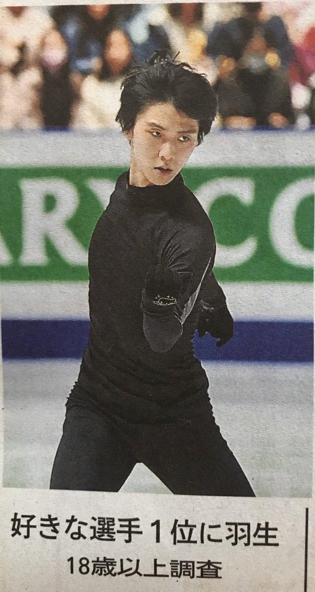 「好きなスポーツ選手」ランキングで全体1位に羽生結弦! 5位には浅田真央がランクイン!
