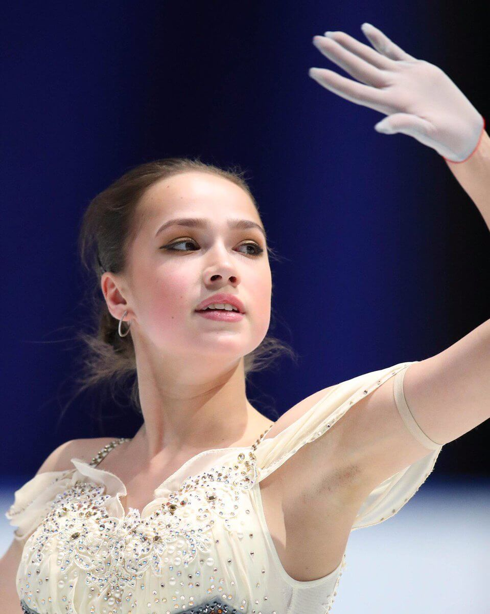 ザギトワ 「日本ではフィギュアスケートはとても愛されています。心から。」