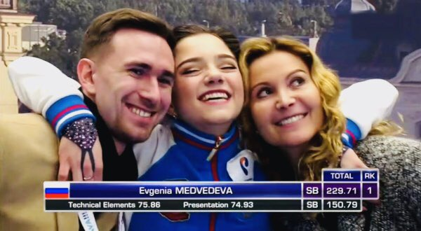 エテリが初めて手掛けるアイスショーにメドベージェワも出演予定!?