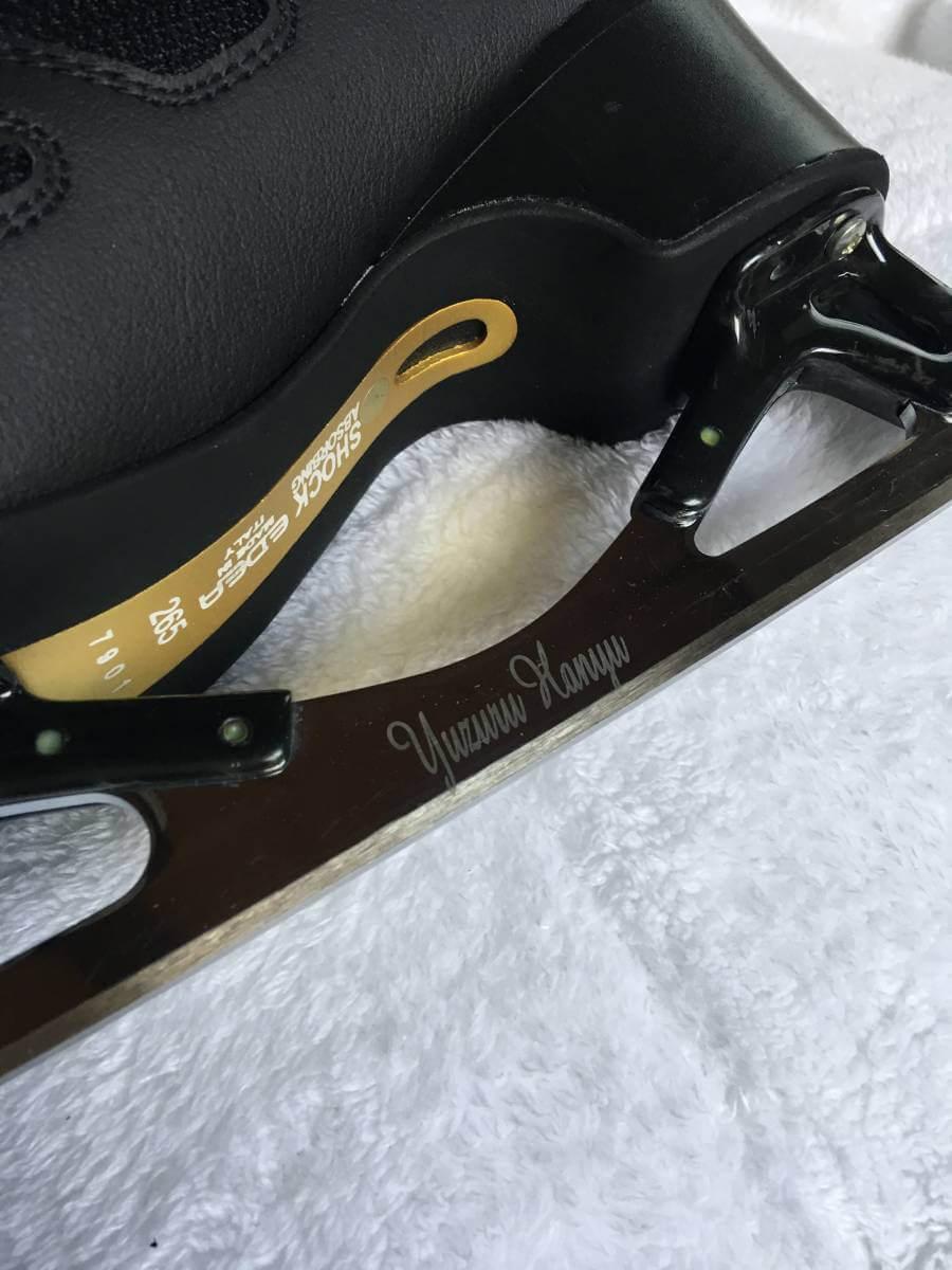 羽生結弦のスケート靴が300万円を突破!3.11チャリティーオークション