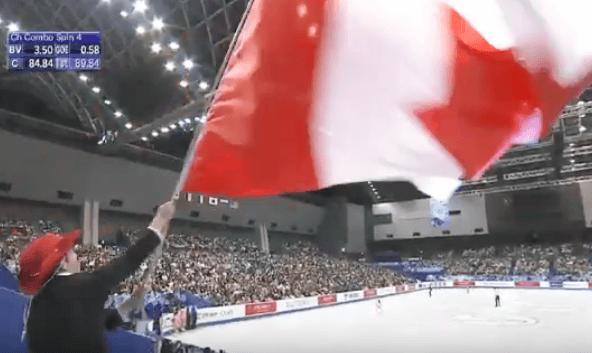 国別対抗戦 チームスピリット賞はカナダが受賞!