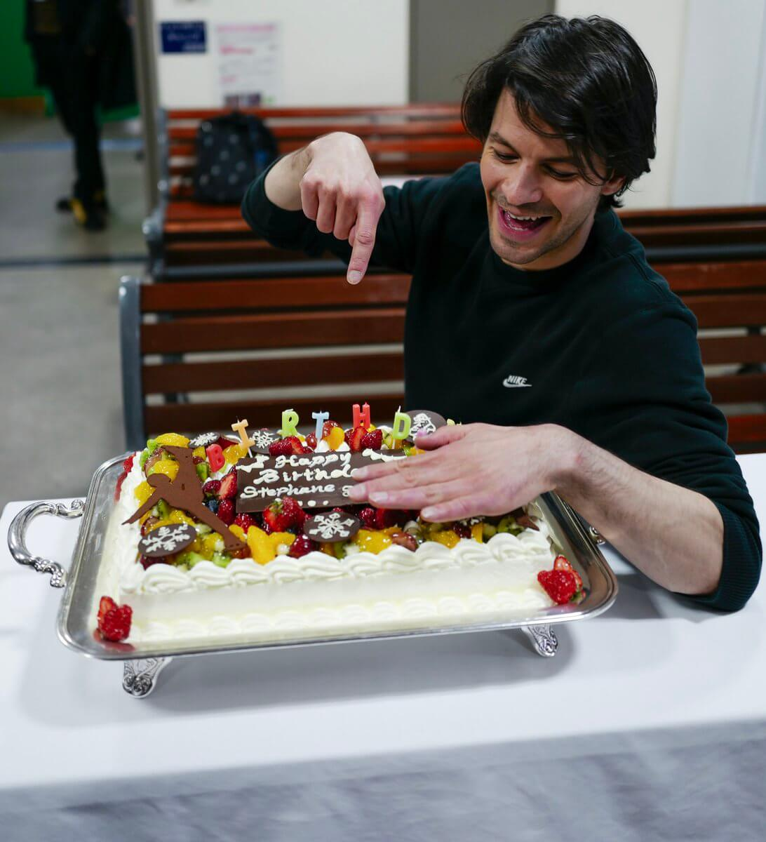 ランビエールの誕生日をSOIメンバーでお祝い!