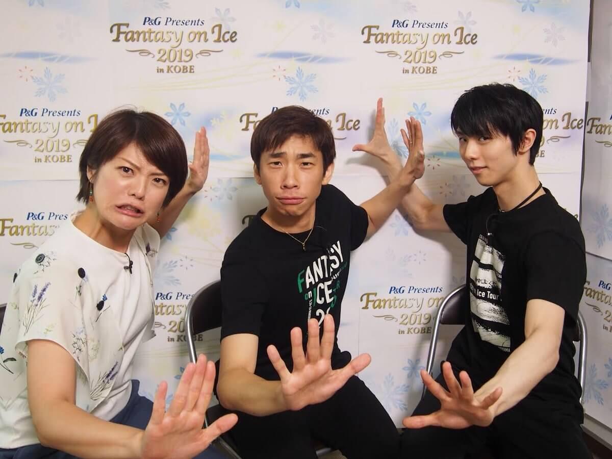 羽生結弦にまたまた織田喜多コンビでインタビュー!6月15日(土)15時から6チャンで!!