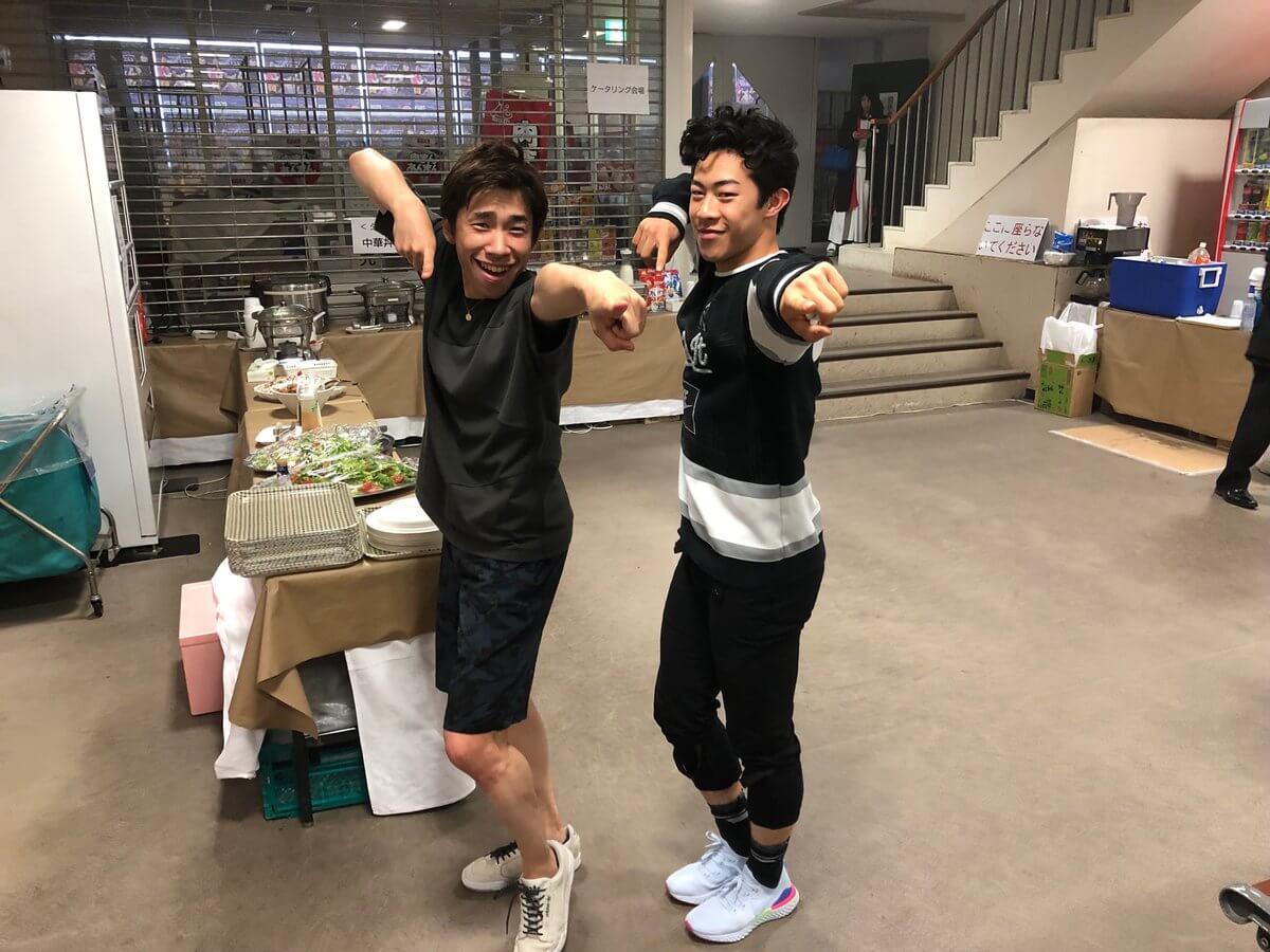 プリンスアイスワールド札幌公演が終了!織田信成がネイサンとの2ショットを公開!