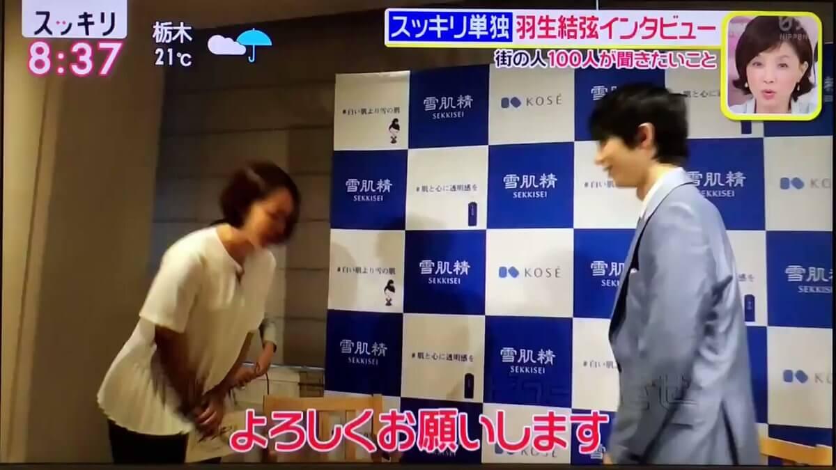 【動画有】スッキリで羽生結弦の単独インタビューが放送!