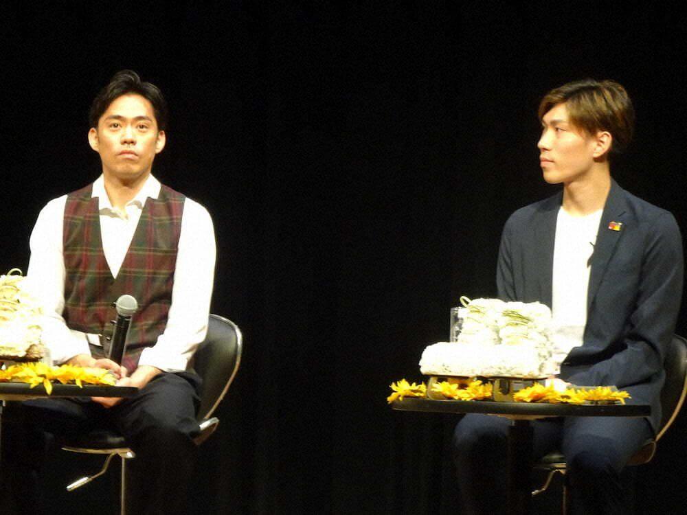 田中刑事の新FSのテーマは「事件」!?高橋大輔とトークショー!