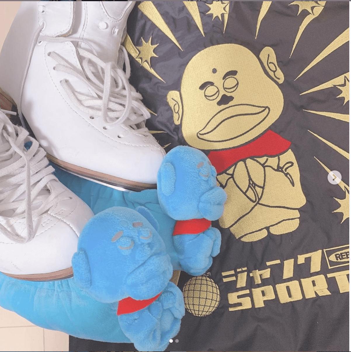 浜ちゃんからスケート靴をプレゼントされた細田采花が3A3Tの映像をインスタに投稿!