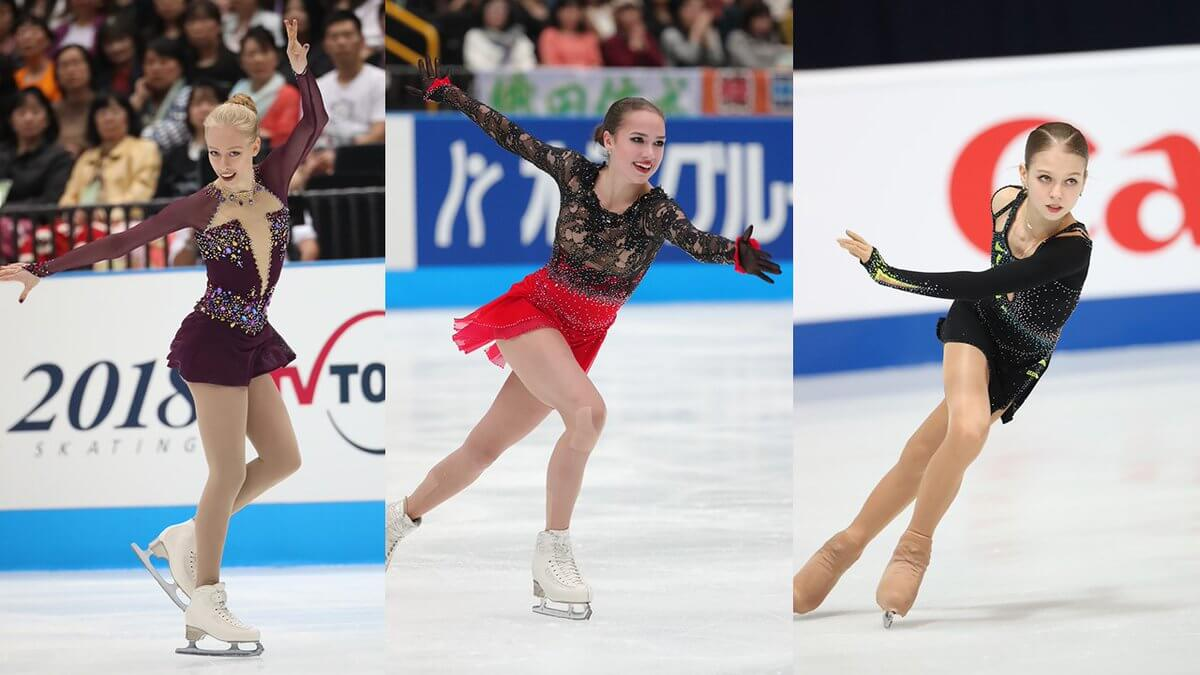 ジャパンオープン2019 出場選手発表! テネル、ザギトワ 、トゥルソワの出場が決定!
