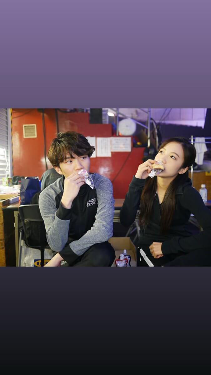 本田真凜がPIWの様子をストーリーに続々投稿!