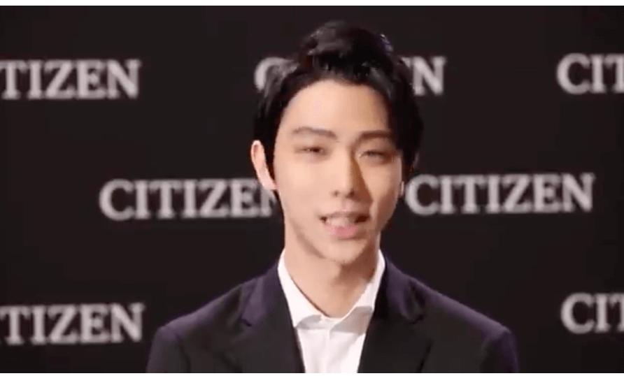 CITIZENが羽生結弦からの中国語でのメッセージ動画を公開!