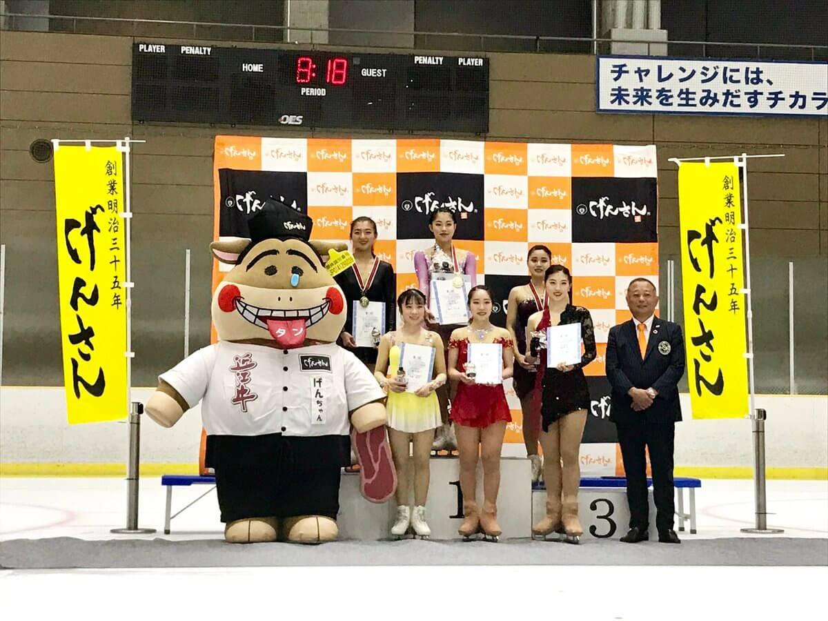 げんさんサマーカップ2019 シニア女子は横井ゆは菜が逆転優勝!