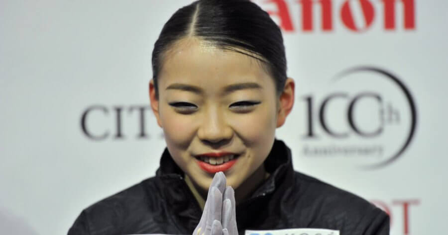 オータムクラシック出場の紀平梨花が地元スケートクラブのSNSに登場!!