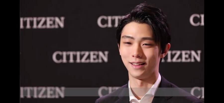CITIZEN weiboに羽生結弦のインタビューが!!