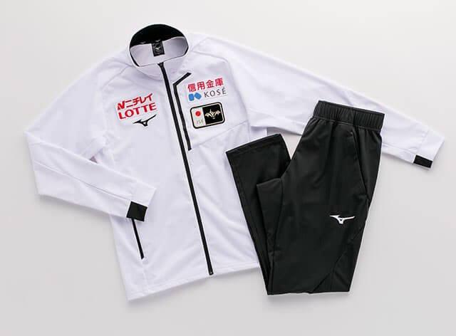 スケート日本代表が2019-20シーズンに着用するオフィシャルウエアがこちら!!