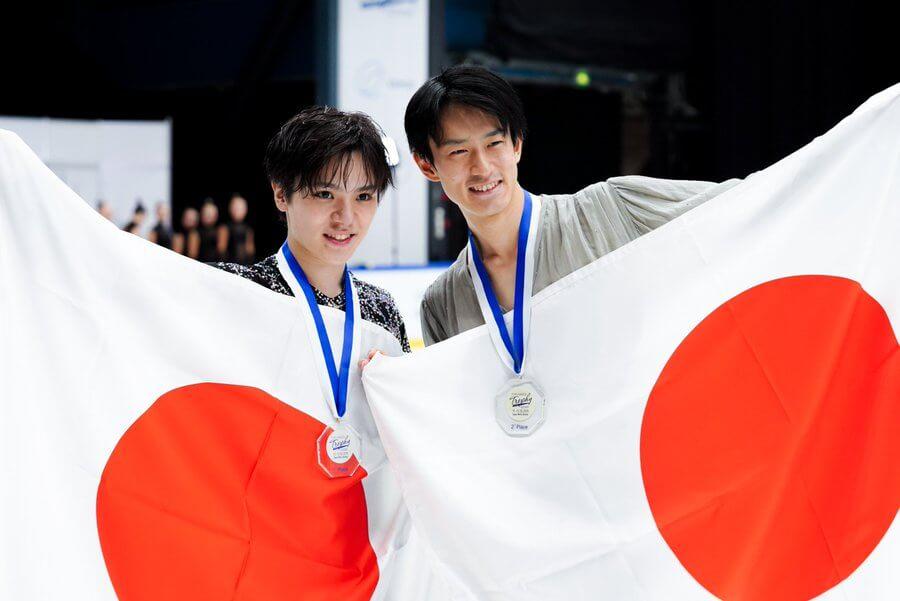 フィンランド杯2019 宇野昌磨が今季初戦優勝! 山本草太は2位!