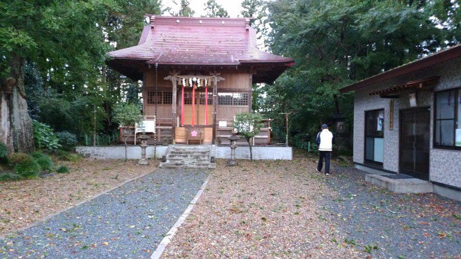 羽生天神社がメッセージ! 「台風では 近くの川水があふれ、決壊、羽生天神社境内の下まで水がきましたが、神社には被害がなく過ごせました。」