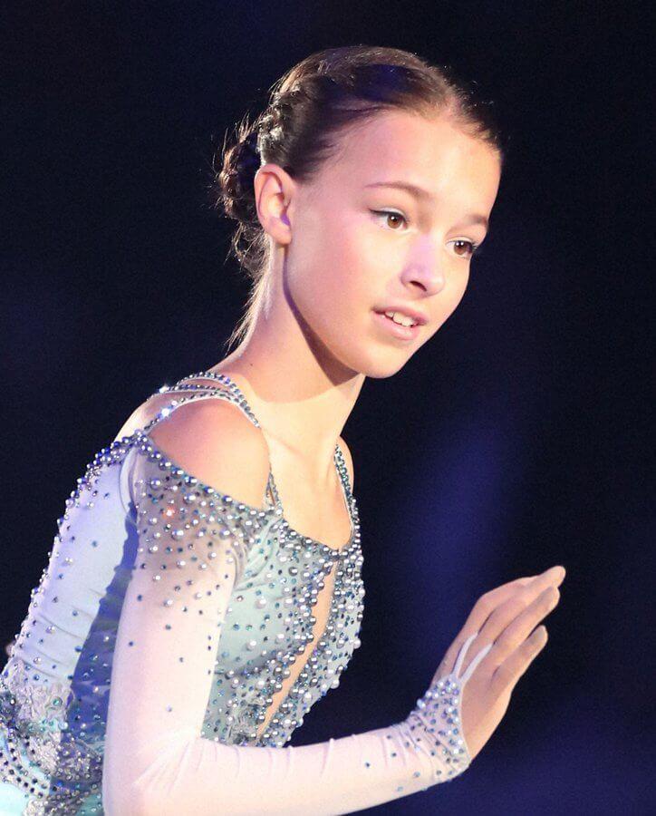 【映像あり】GPS中国杯2019 女子FS アンナ・シェルバコワが2本の4回転で優勝、2位は宮原知子…本田真凜7位!