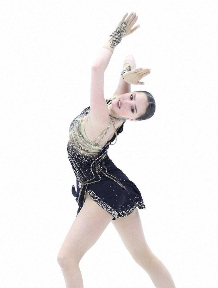 アリーナ・ザギトワ逆襲3位「このリンクで踊ることができて光栄」ファイナル進出も決めた