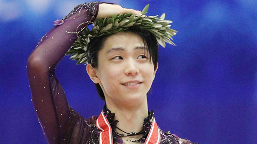 NHK杯の オリーブ冠 は 広島県江田島市産! 羽生結弦 の着用は 江田島市広報の表紙にもなった 2017年の国別対抗戦以来2度目