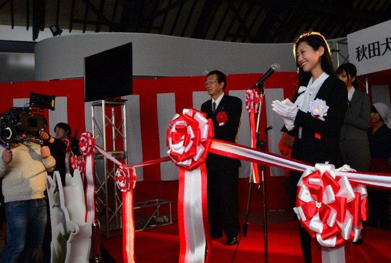 「ハチとパルマの物語」秋田・大館でのロケ、壇蜜さんらが参加…アリーナ・ザギトワ も、開館を祝うビデオメッセージという形で出演。