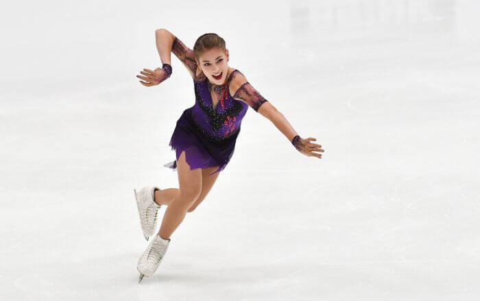 アリョーナ・コストルナヤ、NHK杯を前にコンビネーションジャンプの難易度を上げる
