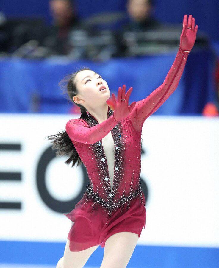 紀平梨花、大技で初の日本一狙う!フリーで4回転サルコー挑戦 全日本フィギアスケート選手権