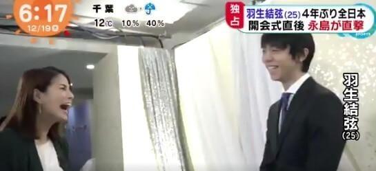 全日本フィギアスケート選手権 12/19 テレビ報道のまとめ!