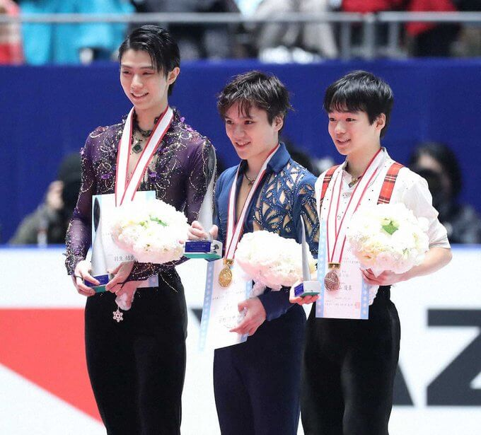 宇野昌磨 V、羽生結弦 2位の「全日本」男子フリー平均16・2%、瞬間最高は25・0%