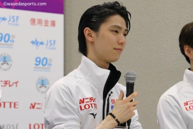 早稲田スポーツ新聞会 が記事を更新! 羽生結弦、4年ぶりの全日本FS  死力尽くすも悔しい2位