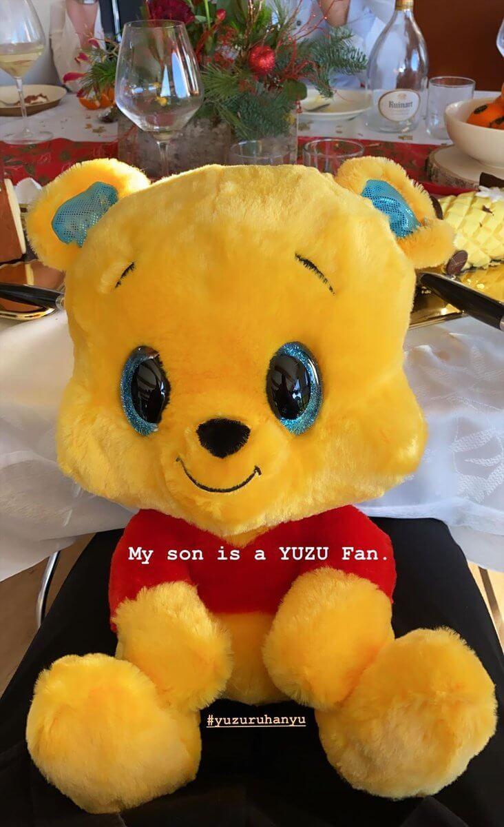 ブノワ・リショー さん がインスタストーリーで息子が 羽生結弦 のファンであることを公表! 「My son is a YUZU Fan.」